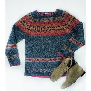 Erika & Co Nordic Vintage Style Sweater M